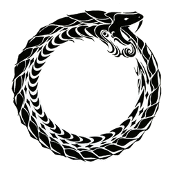 The Ouroboros symbol/representation.